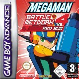 EUR GBA Packshot Mega Man Battle Network Red Sun