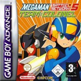 Packshot Mega Man Battle Network 5 Team Colonel